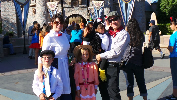 Mary Poppins Cast Disneyland