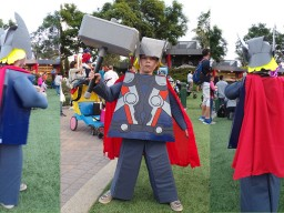 LEGO Thor Costume : DIY Instructions