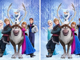 Disney Frozen Printables : Spot the Difference