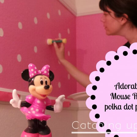 Minnie Mouse Room Paint Tutorial