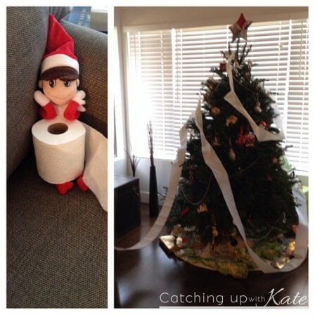 Mediocre Elf on the Shelf Ideas for the rest of us.