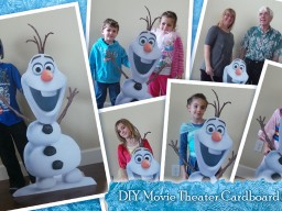 Photo Props for Birthday Parties : Olaf and More!