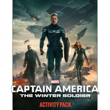 Captain America : The Winter Soldier – Printable Activity Sheets