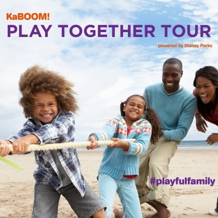 KaBOOM! Play Together Tour!  FREE Family Fun!