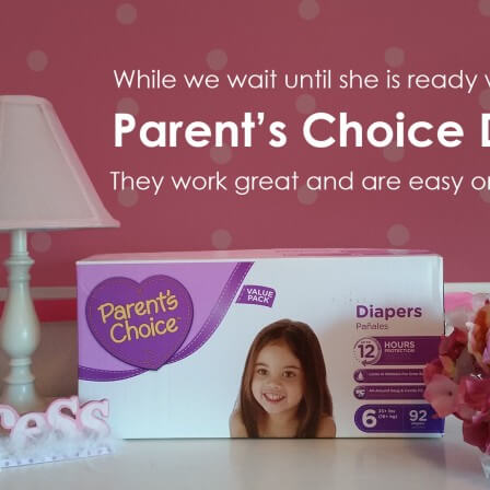 Potty Training, it will happen when it's gonna happen : Parent's Choice Diapers for now!