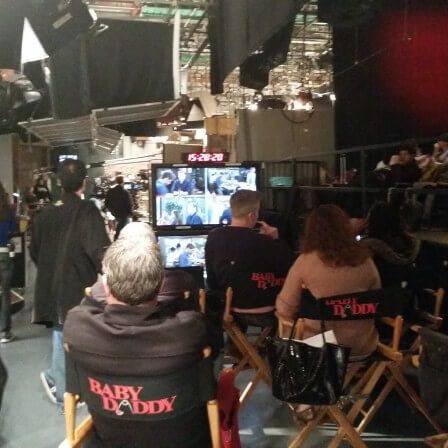 Behind the Scenes with Baby Daddy!
