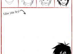How to Draw Hiro Hamada – free printable