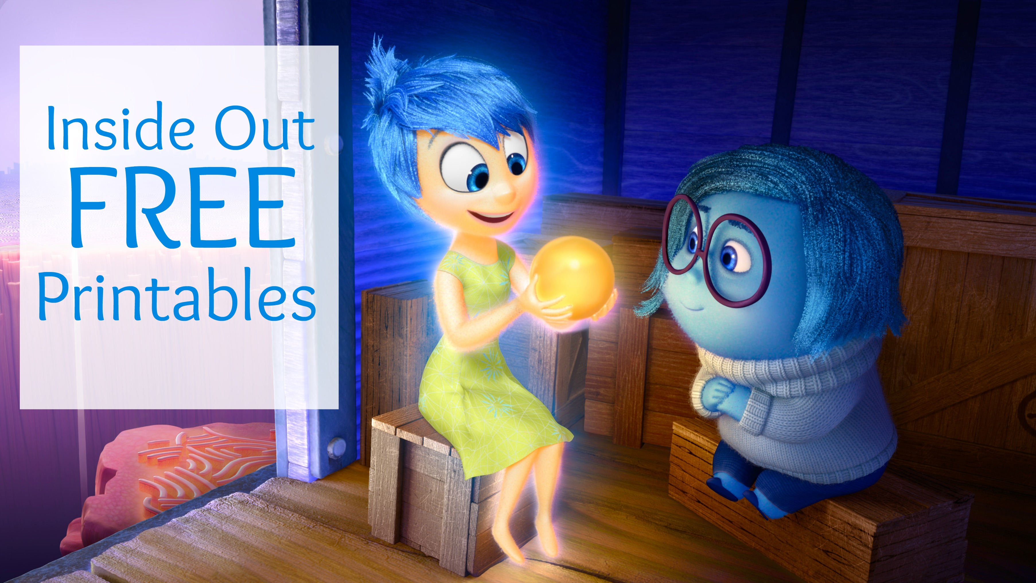 Disney coloring inside out - Disney Coloring Inside Out Inside Out Free Printables