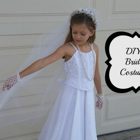 DIY Bride Costume