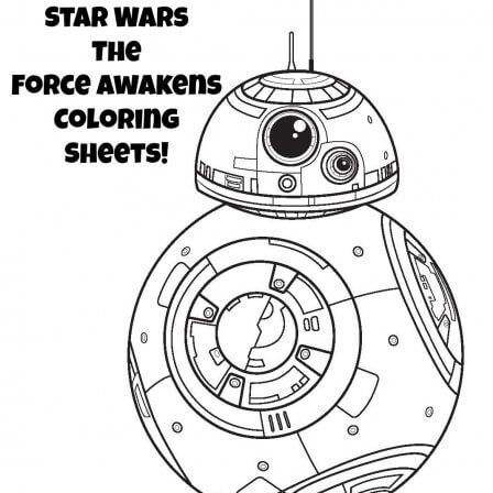 Star Wars Coloring Pages | The Force Awakens