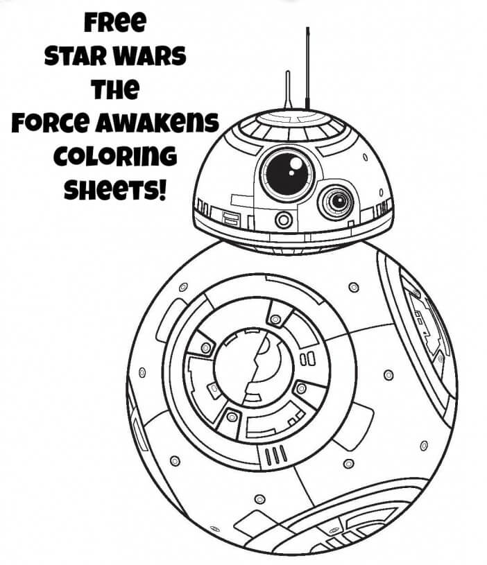 Coloring Pages Star Wars Force Awakens