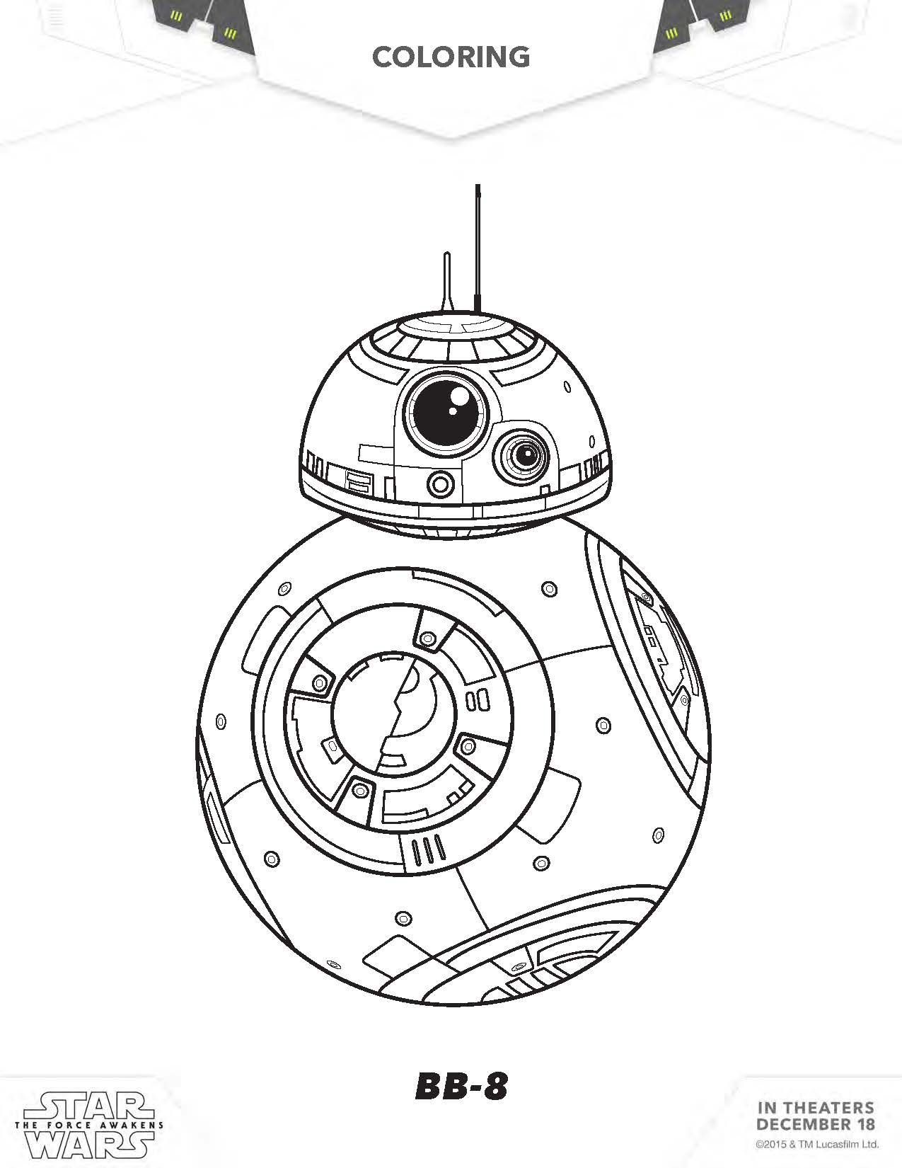 C3po and r2d2 coloring pages