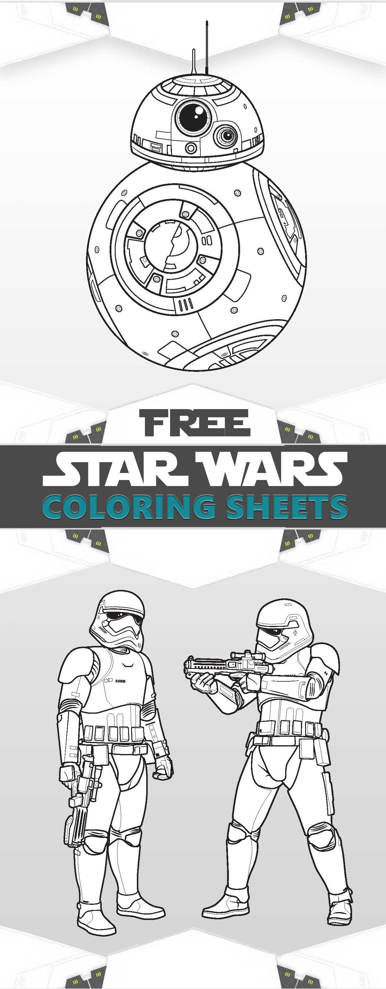 Star Wars coloring pages The force