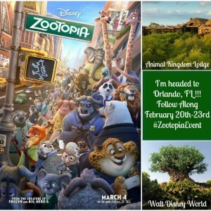 I'm going to Florida for the Zootopia Event!