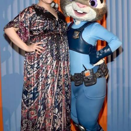 Ginnifer Goodwin voices Judy Hopps in Zootopia!