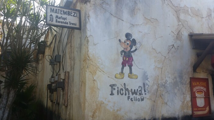 mickey mouse at animal kingdom