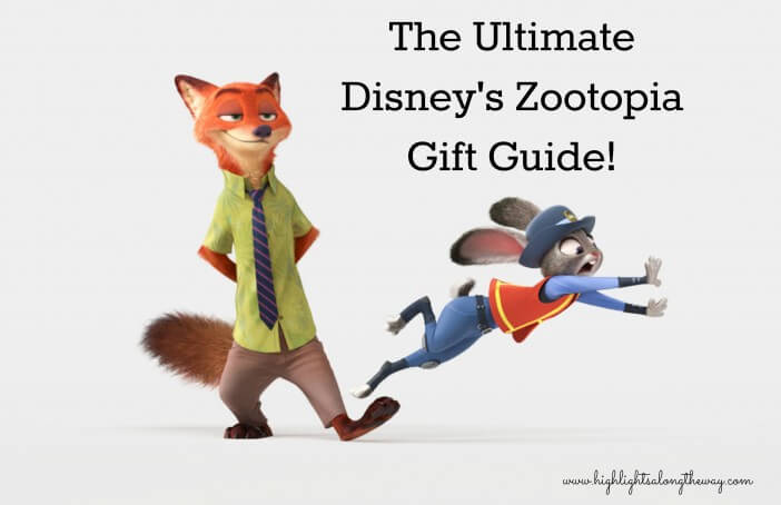 zootopia gift guide