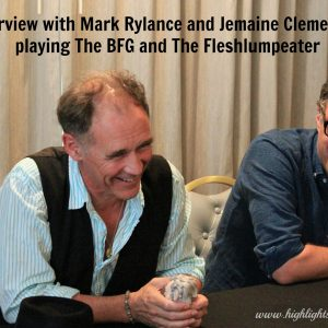 Mark Rylance interview bfg