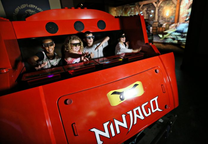 Ninjago Ride at LEGOLAND