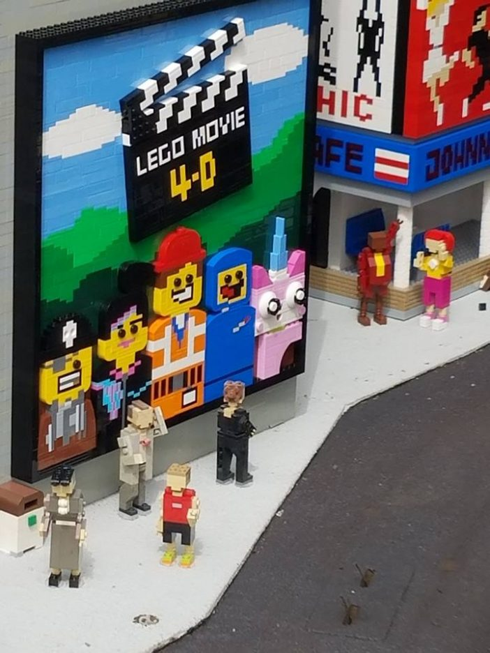 lego movie poster miniland