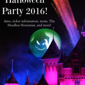 Mickey's Halloween Party Dates and Ticket information for 2016