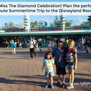 Summertime at Disneyland
