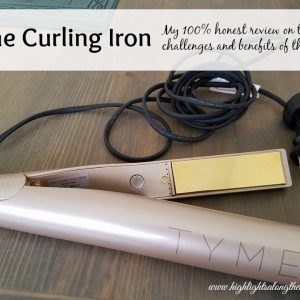 tyme curling iron review