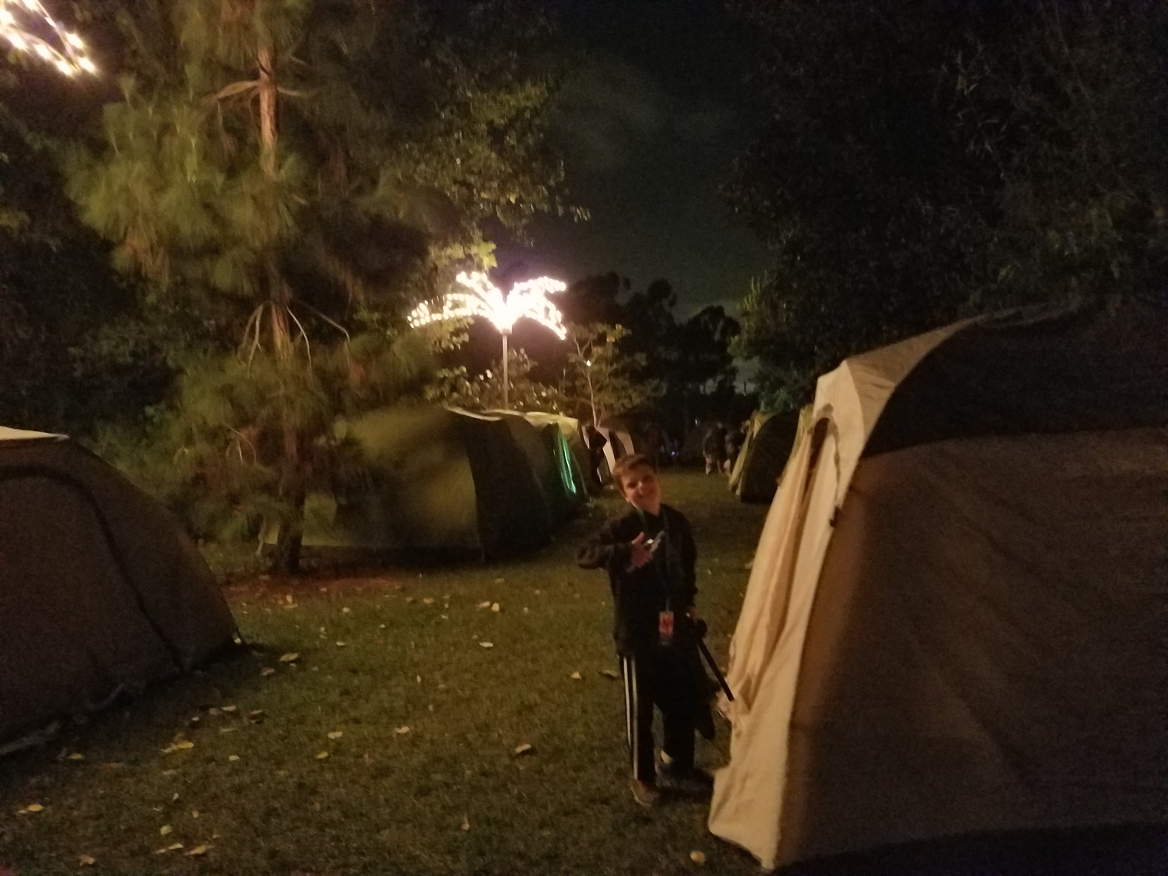 Camping options at the World Famous San Diego Zoo