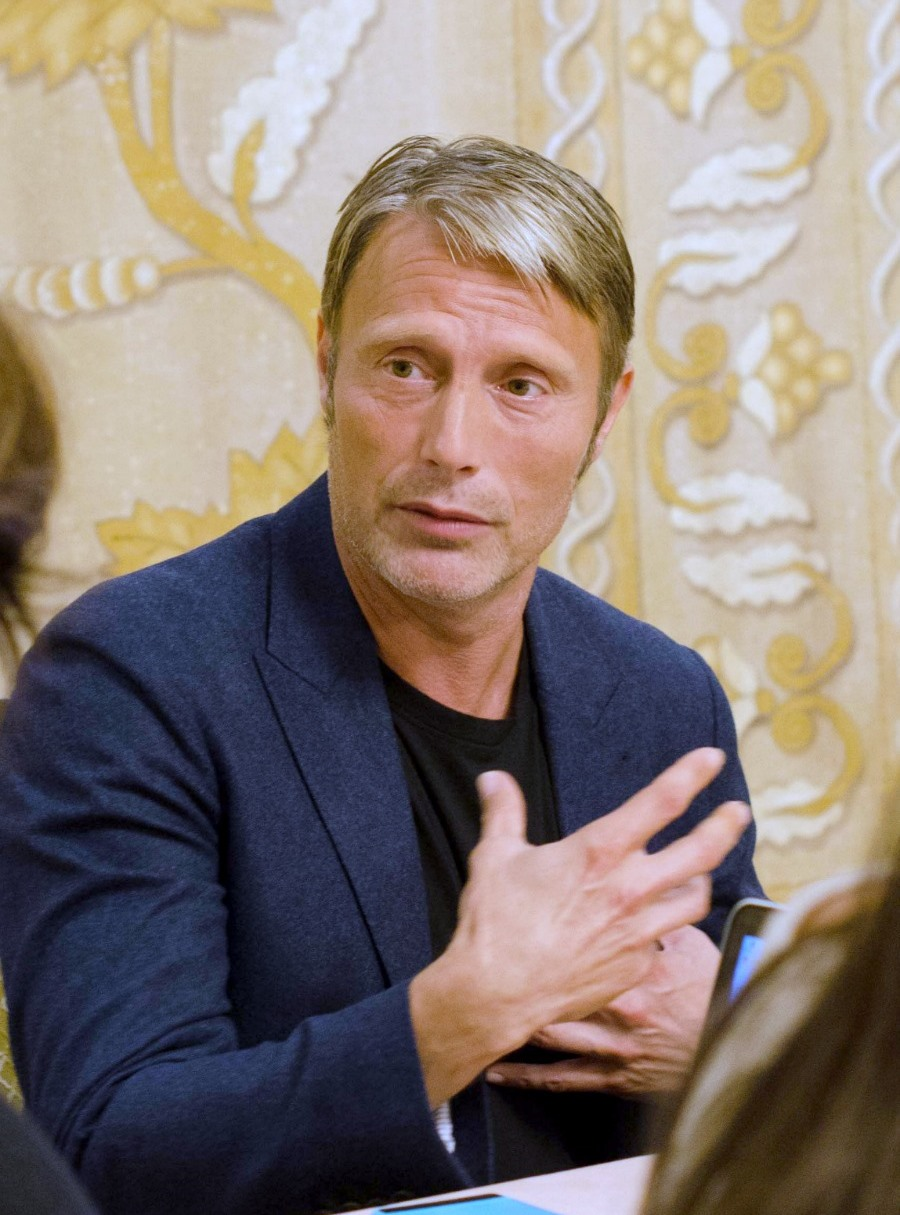 An interview with Mads Mikkelsen about his role as ...