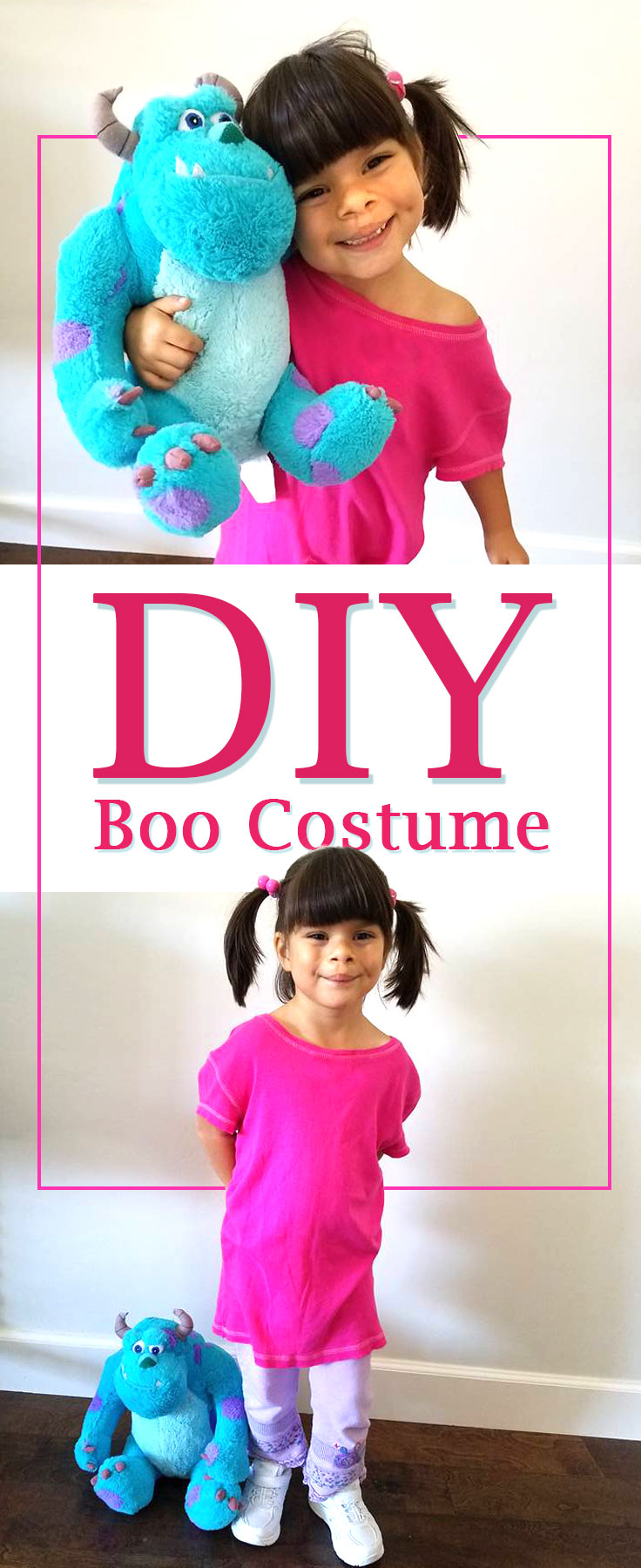 DIY Boo Costume