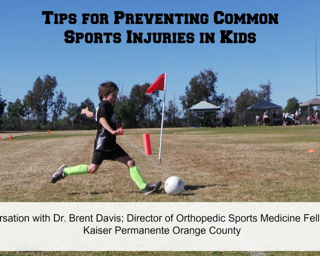 preventing common sports injuries in kids