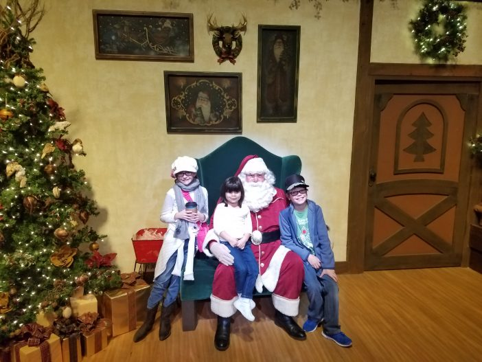 santa at knotts berry farm