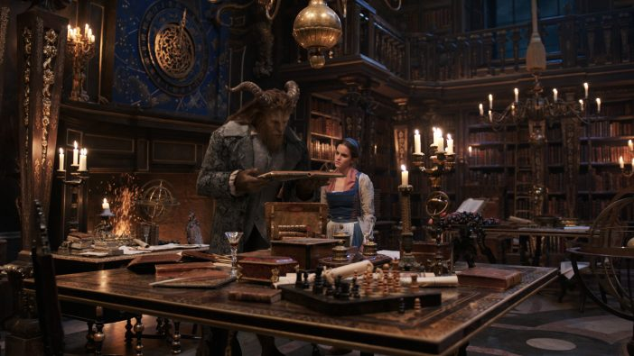 Beauty and the Beast live action library