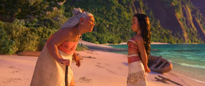 Moana and her Grandma