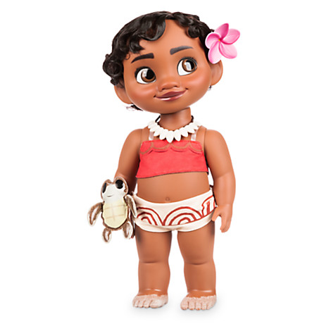 moana doll with sandy toes