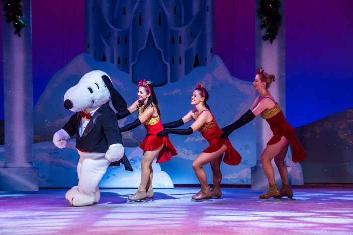 snoopy ice skating show