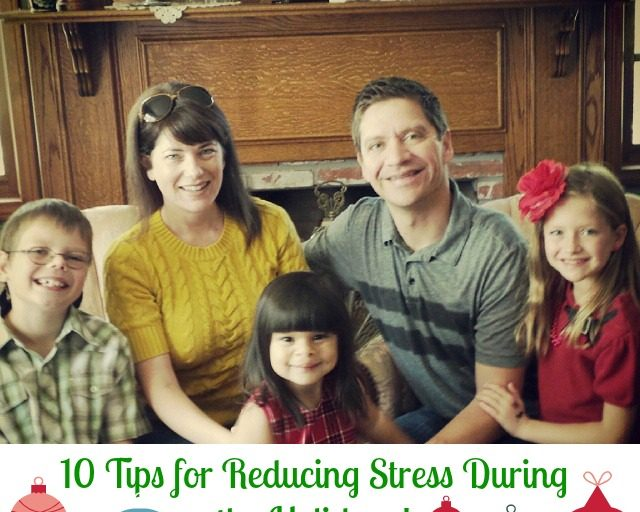 tips for reducing stress during the holidays