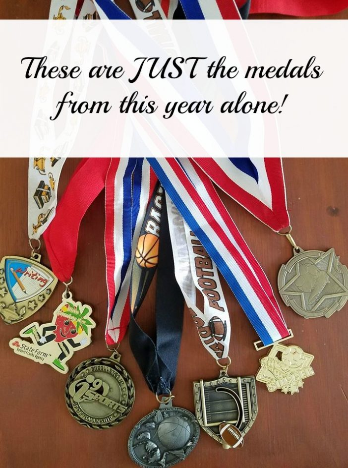 things to do with sports medals