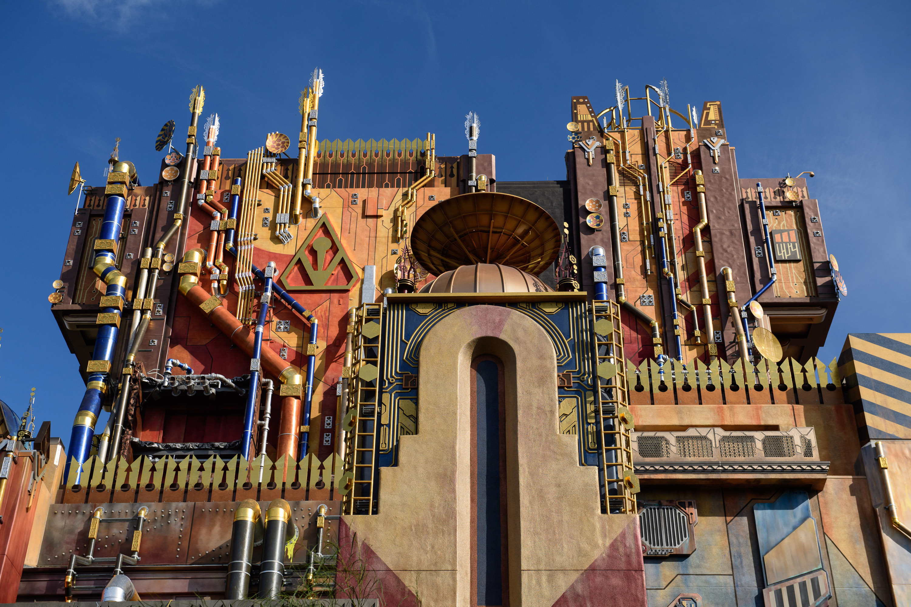 California Adventure Park Guardians of the Galaxy Ride