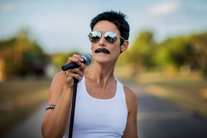 EASY diy freddie mercury costume