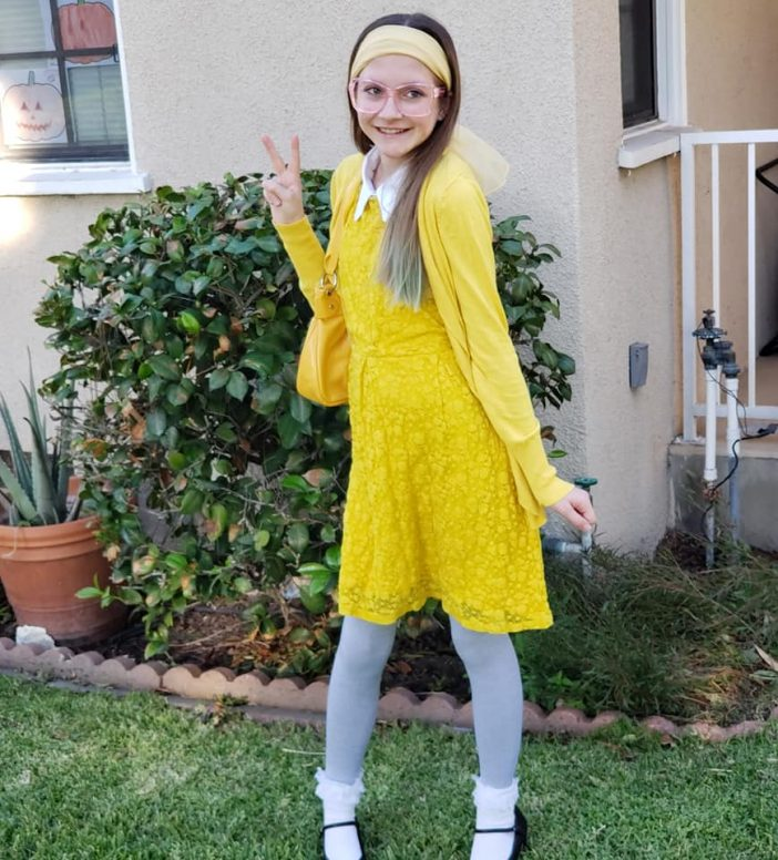 Honey Lemon easy tween and teen costume DIY