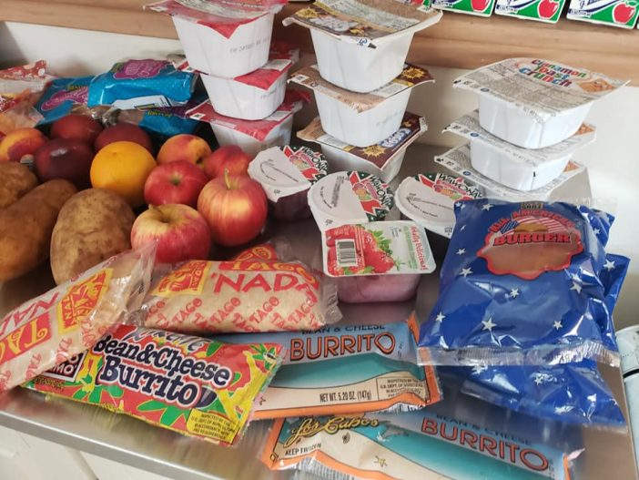 free school lunches are OK but full of sugar and junk