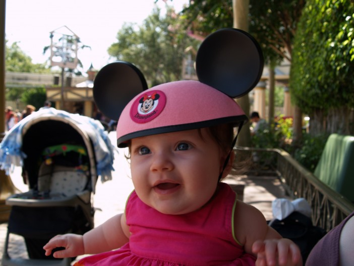 Baby's First Trip to Disneyland