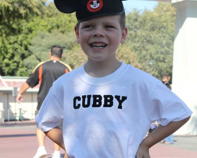 Cubby Homemade Mouseketeer costume