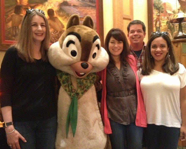 Chip and Dale Character Breakfast