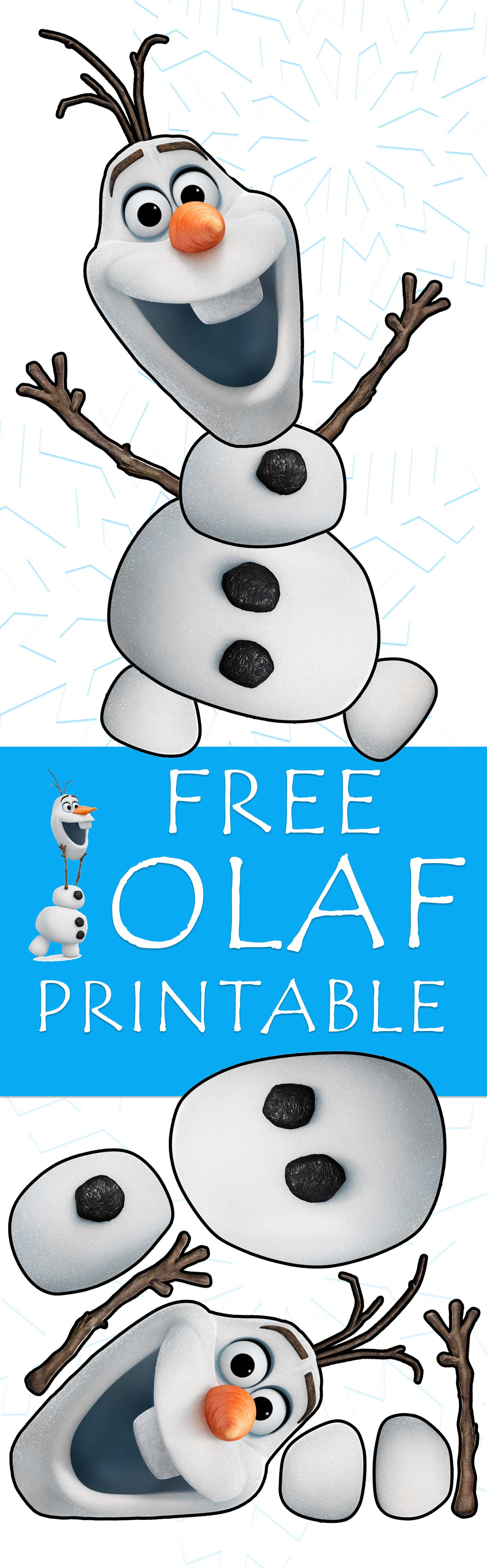 Obsessed image within olaf printable