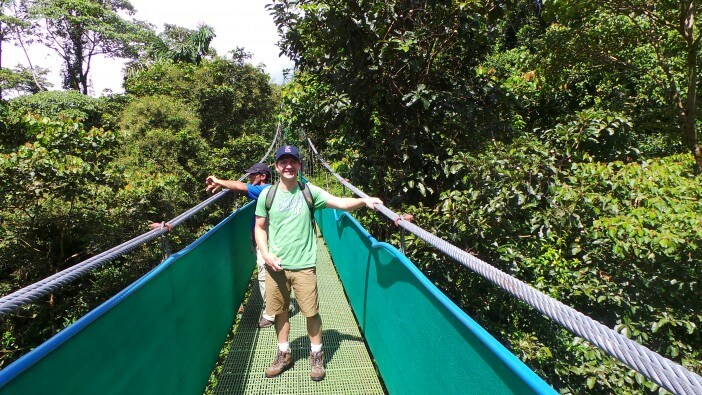 Costa Rica Rope Bridge