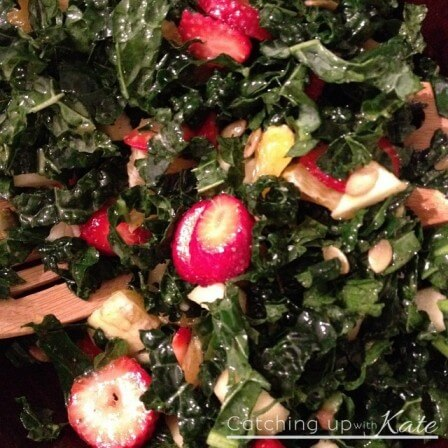 Kale Salad kids will eat!