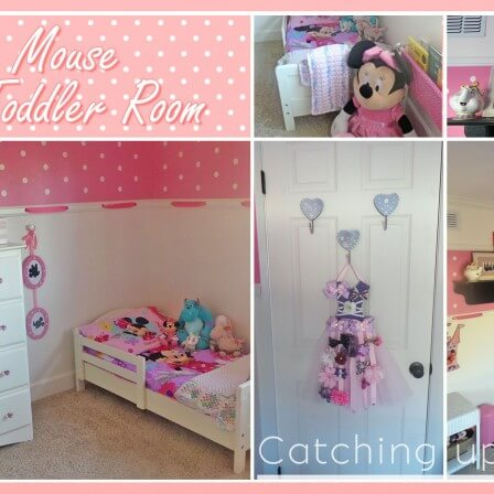 Minnie Mouse Room : DIY Decor