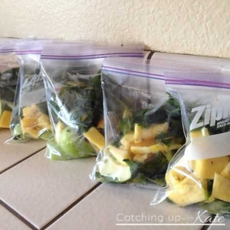 Pre-Made Freezer Smoothies